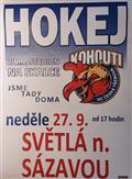 Kohouti Česká Třebová vs. Světlá nad Sázavou